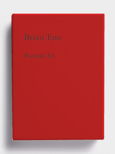 Postcard Set (Bright Red) by Brian Eno