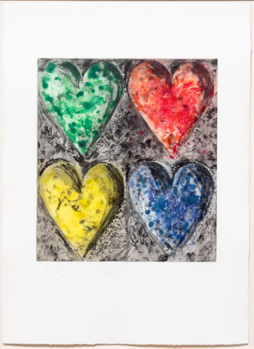 Watercolor in Galilee by Jim Dine at