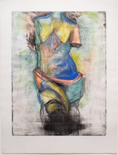 The French Watercolor Venus by Jim Dine at