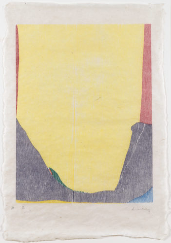 East and Beyond by Helen Frankenthaler at
