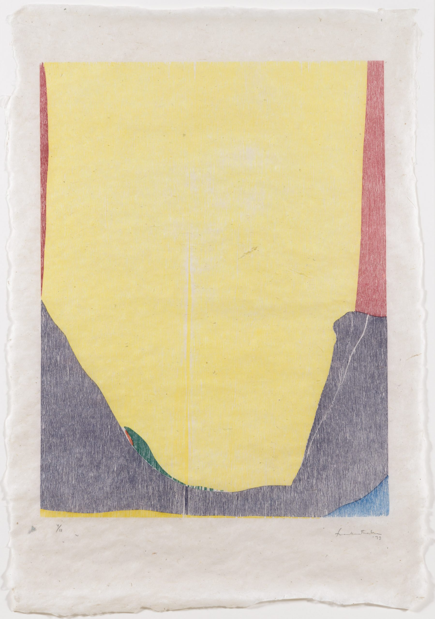 East and Beyond by Helen Frankenthaler