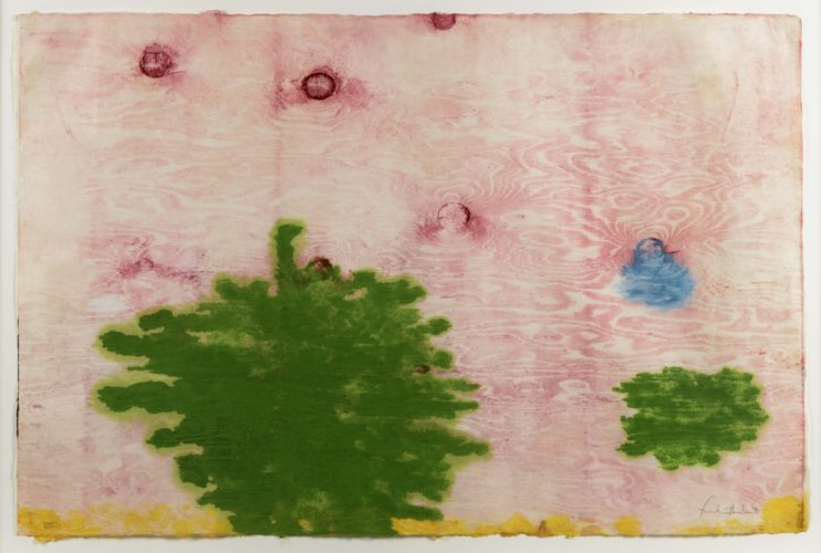Monotype xviii by Helen Frankenthaler at Leslie Sacks Gallery (IFPDA)