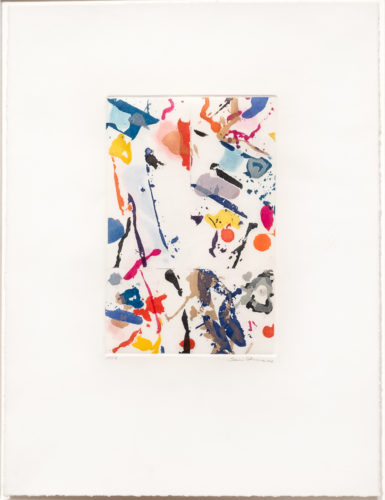 Untitled by Sam Francis at