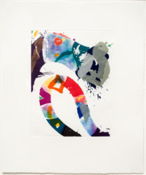 Untitled by Sam Francis at Leslie Sacks Gallery (IFPDA)