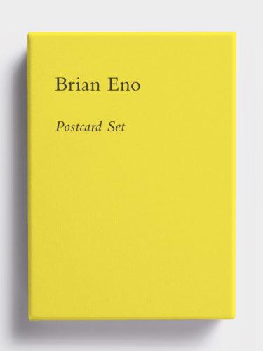 Postcard Set (Factory Yellow) by Brian Eno at