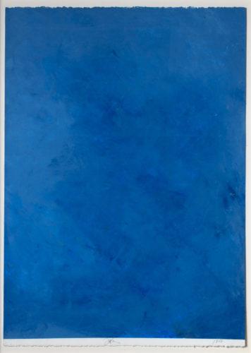 Ocean Blue Drawing #36 by Joe Goode at