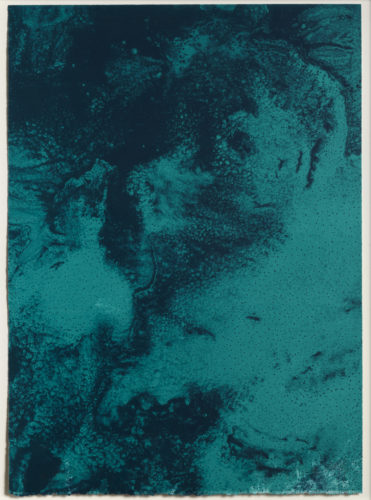 Ocean Blue 23 (Color Test Print #8) by Joe Goode at Joe Goode
