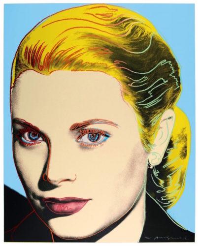 Grace Kelly (FS II.305) by Andy Warhol