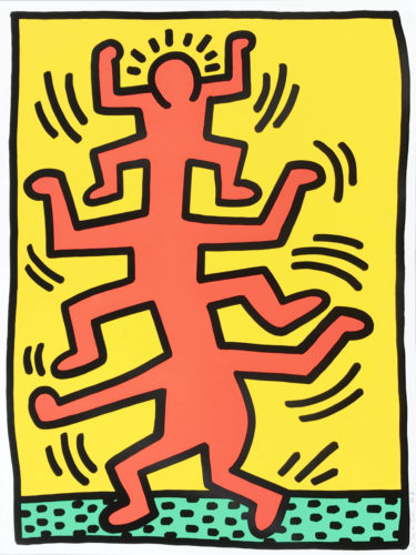 Growing #1 by Keith Haring