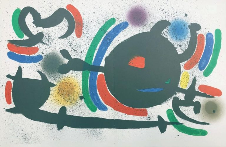 untitled by Joan Miro at