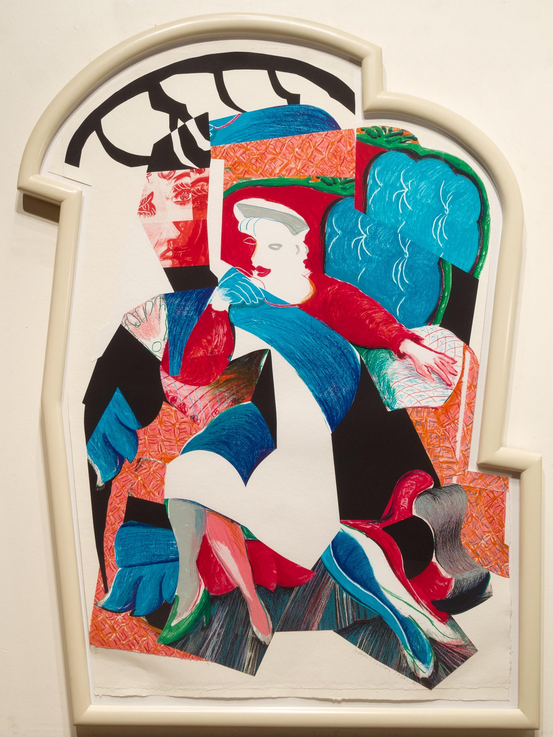 An Image of Celia, State II, from Moving Focus by David Hockney