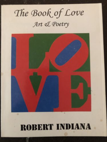 Book of Love book by Robert Indiana