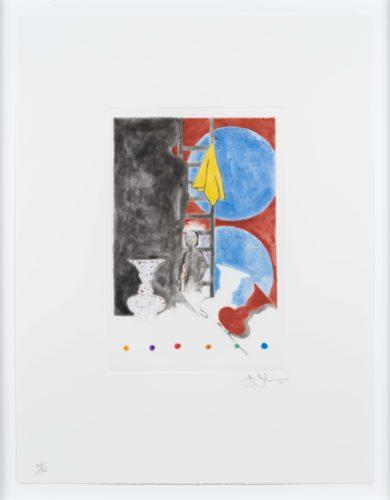 Untitled by Jasper Johns at Leslie Sacks Gallery (IFPDA)