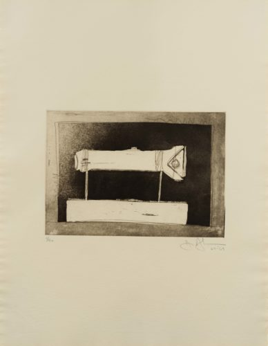 Flashlight (Large), from 1st Etchings, 2nd State by Jasper Johns at Leslie Sacks Gallery (IFPDA)