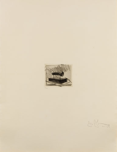 Flashlight (Small), 1st Etchings, 2nd State by Jasper Johns at Leslie Sacks Gallery (IFPDA)