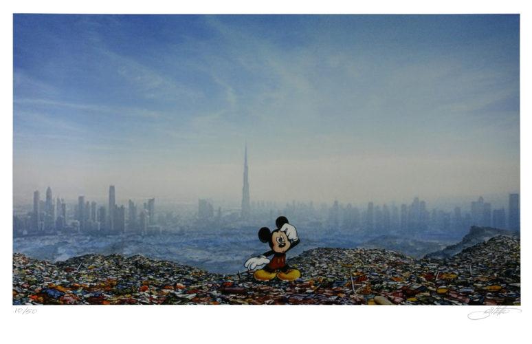Dubai Landfill Mickey by Jeff Gillette