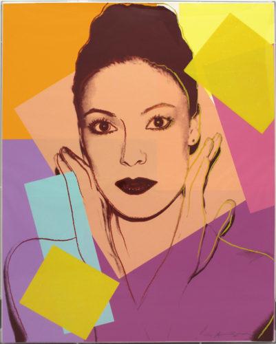 Karen Kain (FS II.236) by Andy Warhol