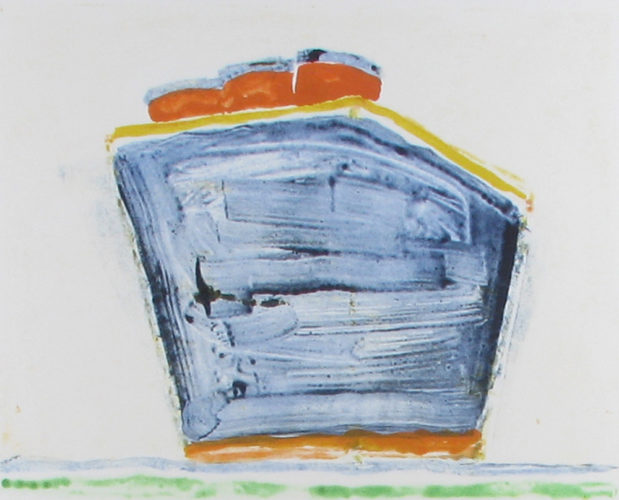 Steamboat Orange Stacks by Katherine Bradford at