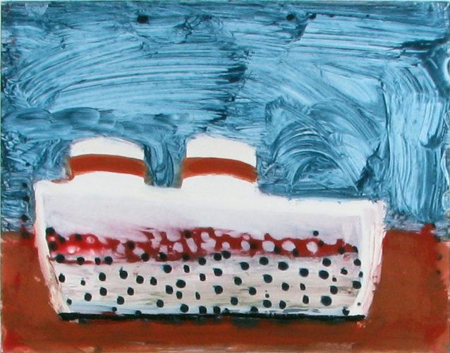 Steamboat USA by Katherine Bradford