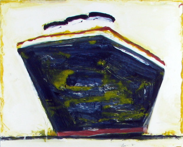 Steamboat White Stacks by Katherine Bradford at
