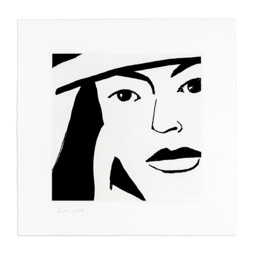 Ada #10 by Alex Katz