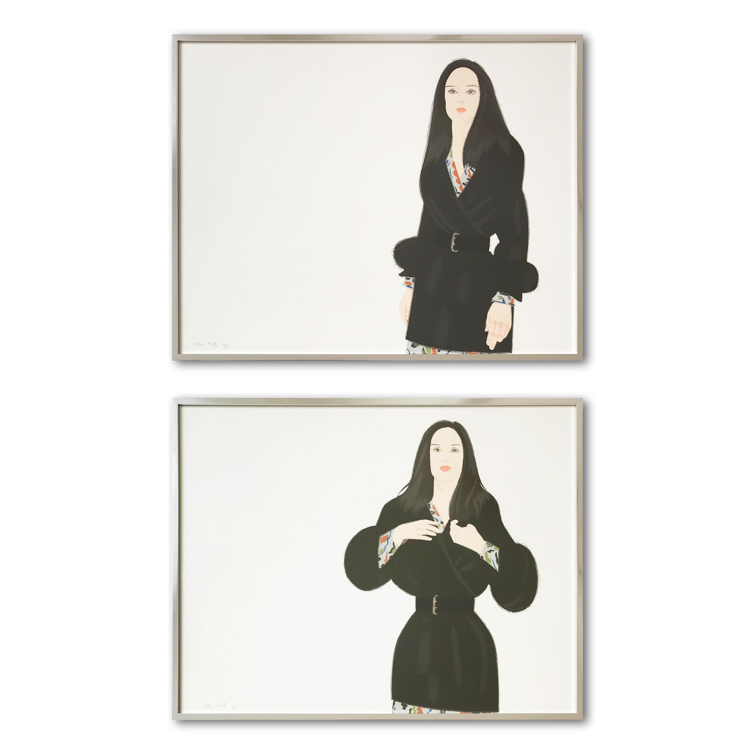 Maria I and II by Alex Katz
