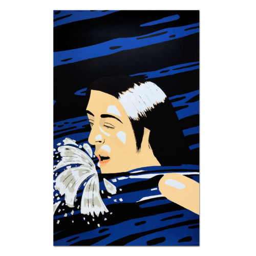 Olympic Swimmer by Alex Katz at MLTPL