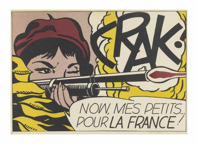 Crak! by Roy Lichtenstein at Roy Lichtenstein