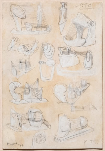 Ideas for Stringed Figures by Henry Moore at