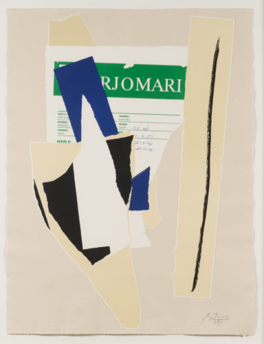 America – La France Variations IX by Robert Motherwell at Robert Motherwell