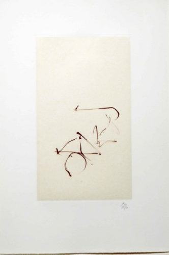 Return, from Three Poems by Octavio Paz by Robert Motherwell at Leslie Sacks Gallery (IFPDA)