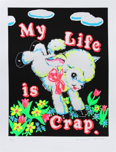My Life Is Crap (Black) by Magda Archer