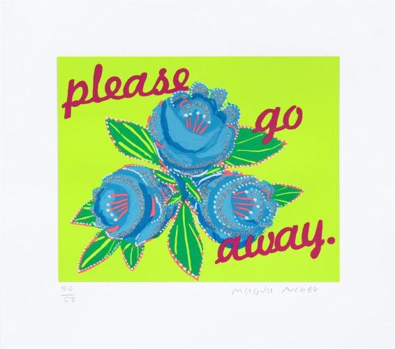 Please Go Away 2 by Magda Archer