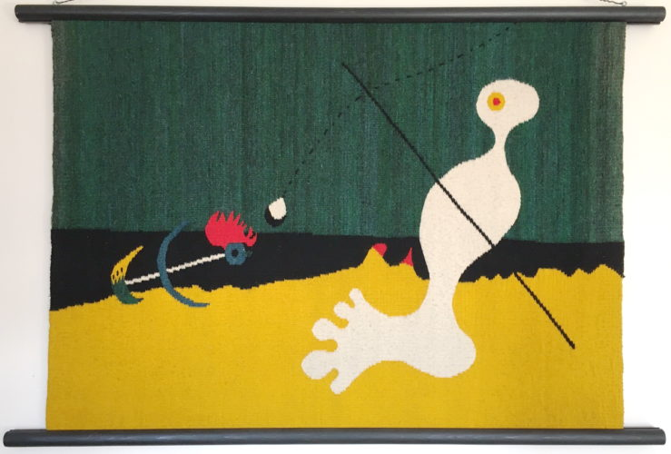 Person Throwing a Stone at a Bird by Joan Miro