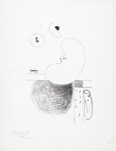 L'Arbre des voyageurs: III by Joan Miro at Sims Reed Gallery (IFPDA)