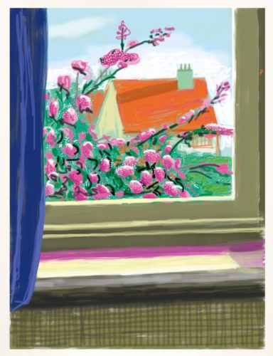 My Window. Art Edition (No. 751–1,000), iPad drawing 'No. 778', 17th April 2011 by David Hockney at David Hockney
