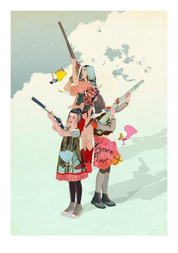 Once Upon A Time by Delphine Lebourgeois
