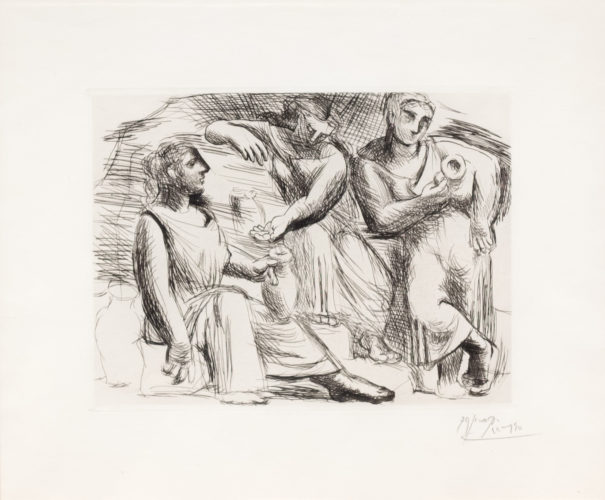 La Source by Pablo Picasso at