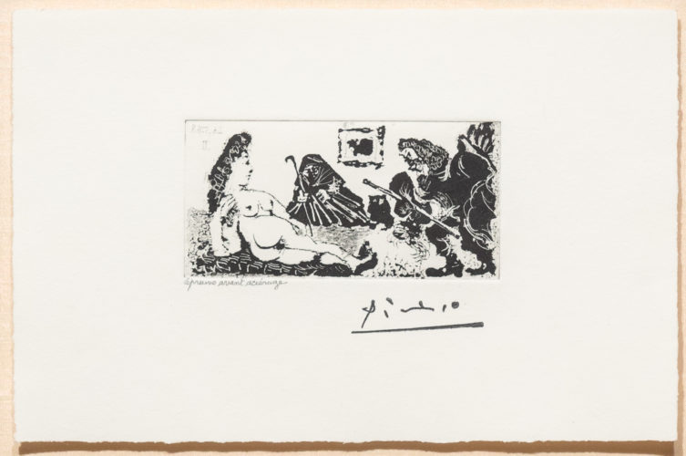 Vieux Beau Saluant Tres…, from the 347 Series by Pablo Picasso at
