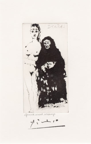 Maja et Celestine, from the 347 Series by Pablo Picasso at