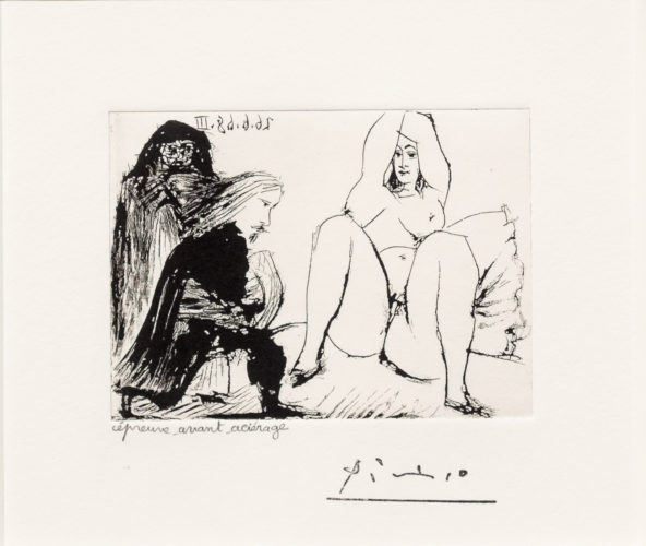 La Celestine… from the 347 series by Pablo Picasso at Pablo Picasso