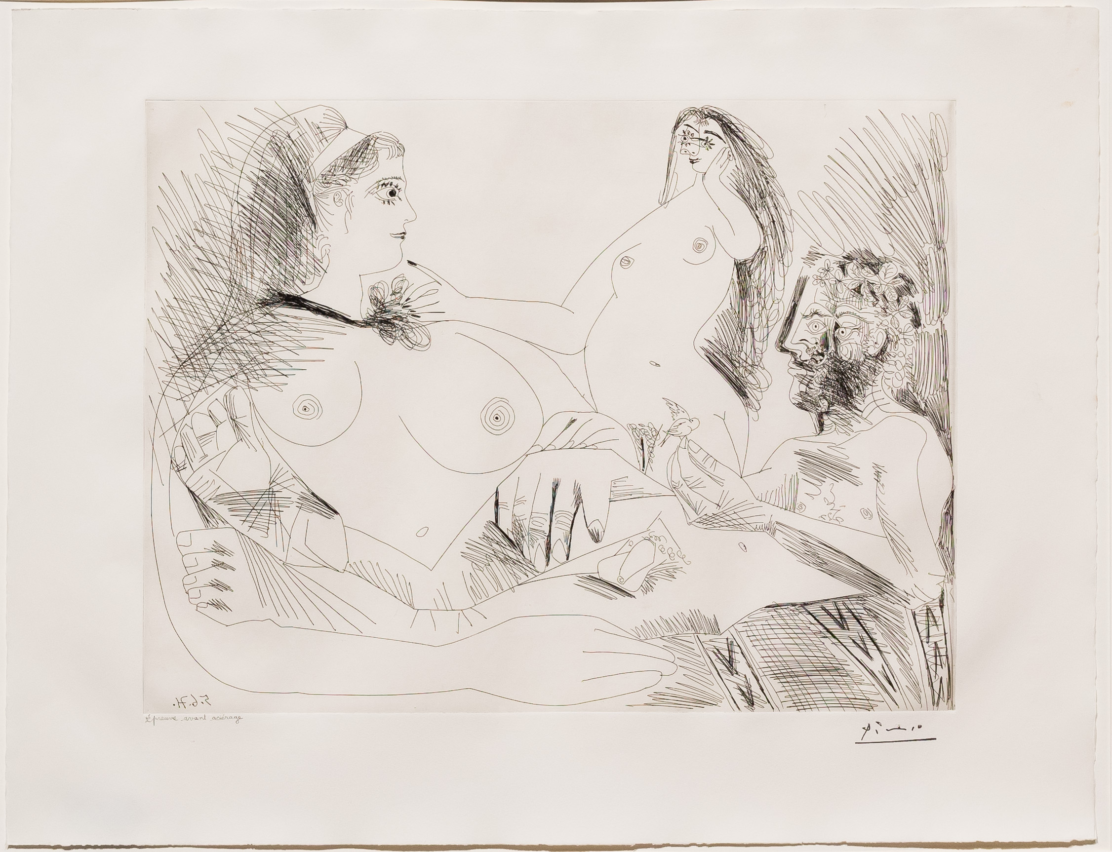 Belle Jeune Femme a sa Toilette Revant…, from the 156 Series by Pablo Picasso