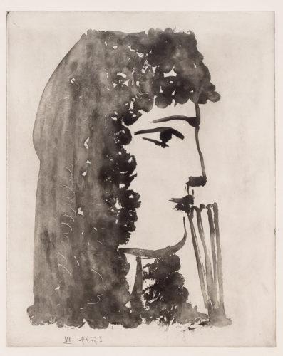 Carmen, de Profil by Pablo Picasso at Pablo Picasso