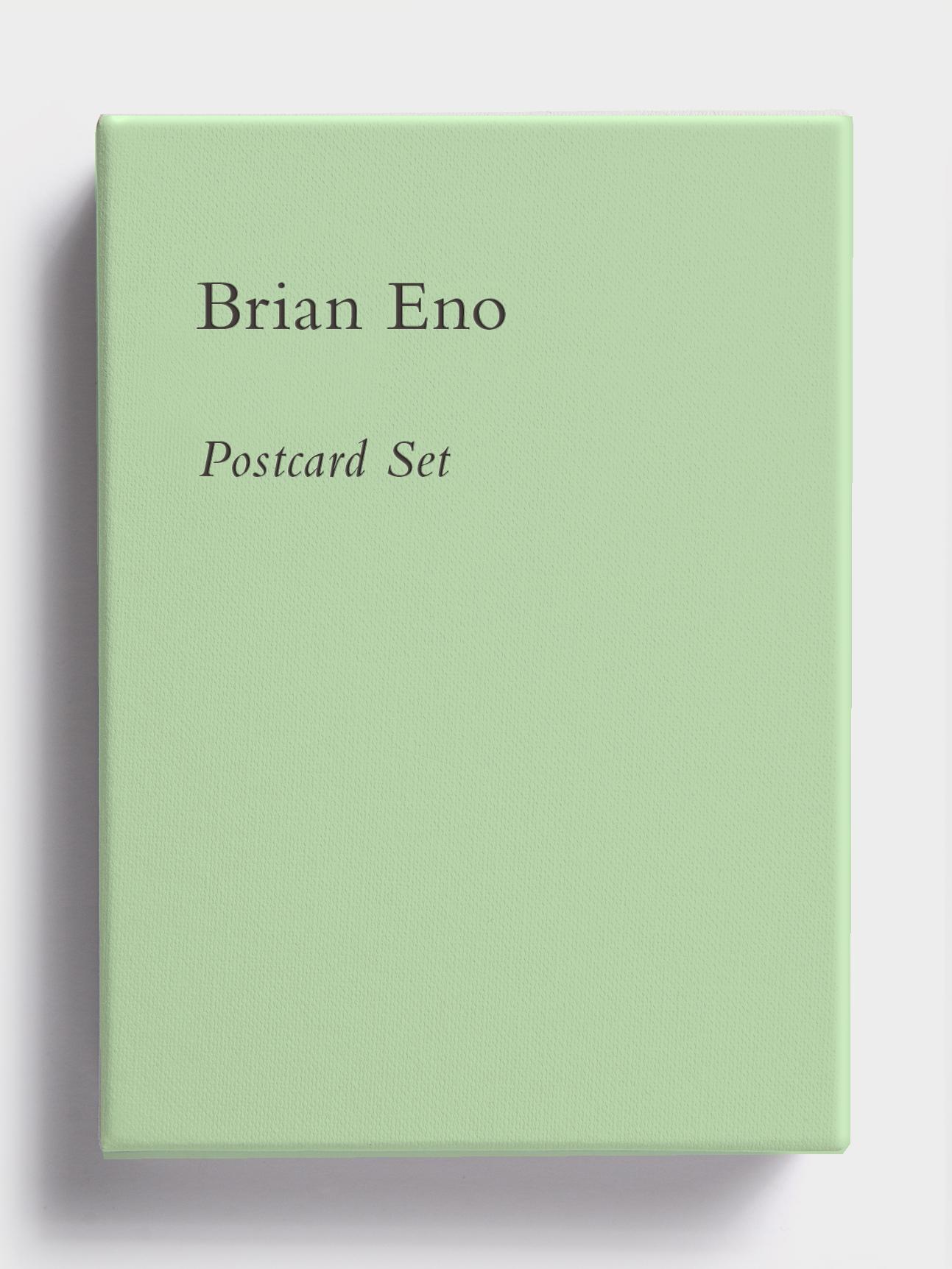 Postcard Set (Park Green) by Brian Eno
