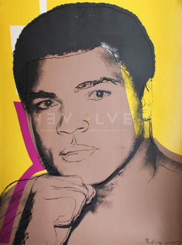 Muhammad Ali (FS II.182) by Andy Warhol