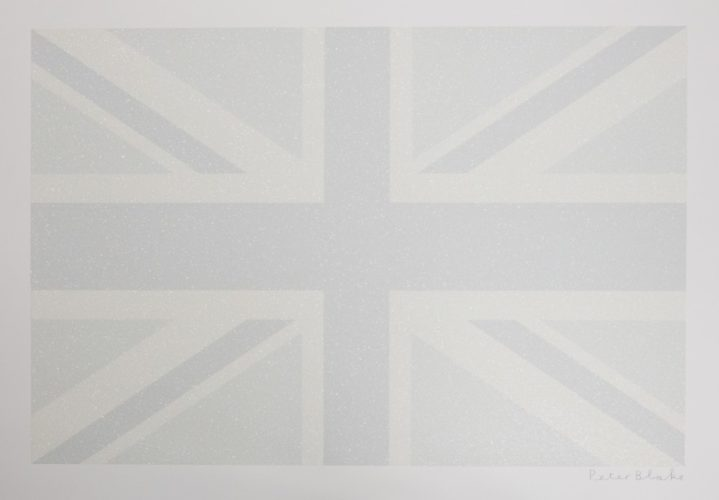 Union Flag (Greyscale) by Peter Blake