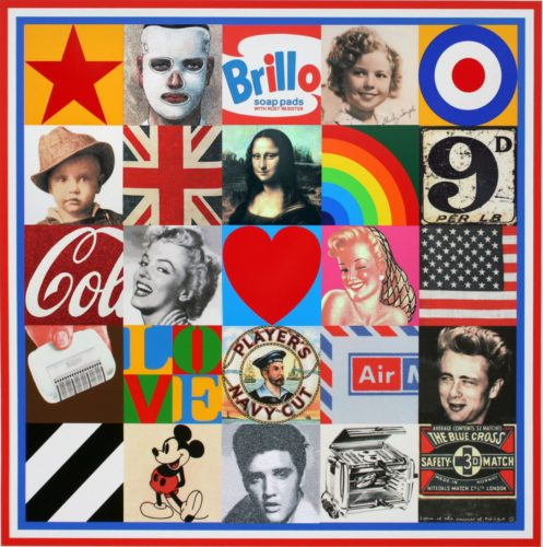 Some of the Sources of Pop Art VII by Peter Blake