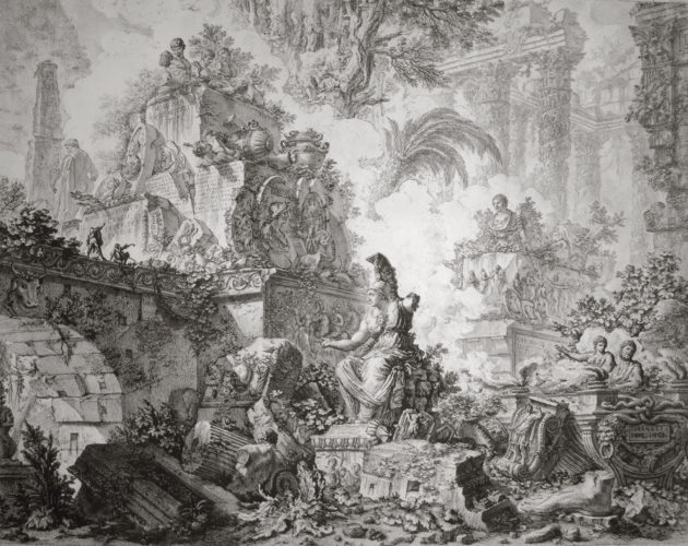 Vedute di Roma (3rd state) by Giovanni Battista Piranesi at