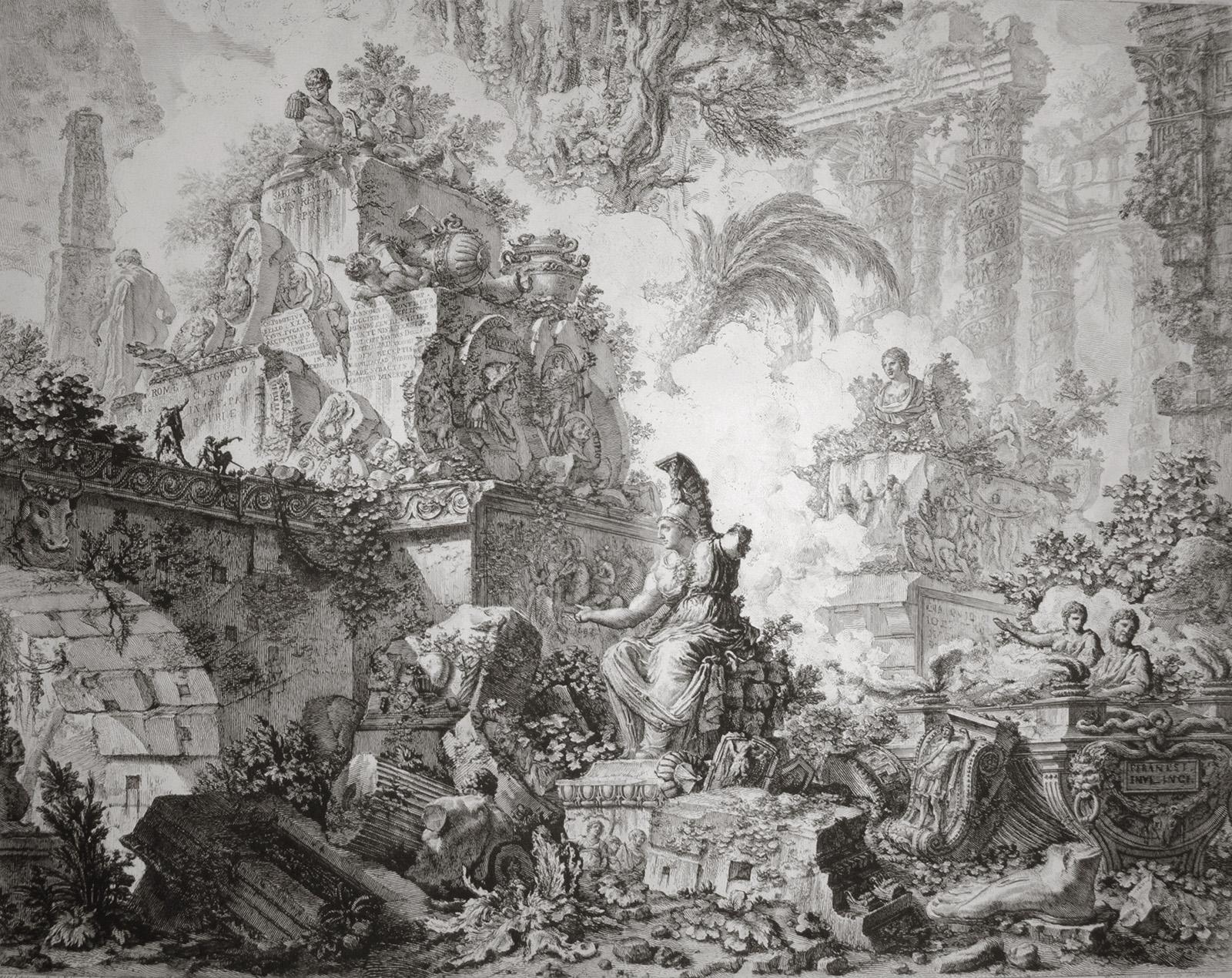 Vedute di Roma (3rd state) by Giovanni Battista Piranesi