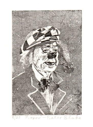 Popov by Peter Blake at